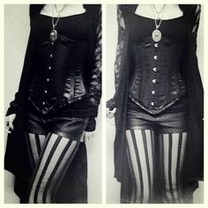 This makes me think of a more modern steampunk look - so cute! // Cabaret