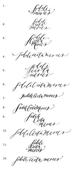 This elegant calligraphy is the perfect font to deliver
