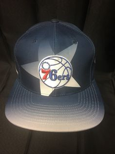 A personal favorite from my Etsy shop https://www.etsy.com/listing/506565413/mitchellness-philadelphia-sixers-stars