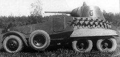 Тяжелый советский бронеавтомобиль БА-11