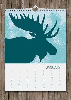 2014 Wall Calendar / Flora & Fauna