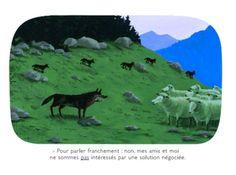 Les dessins de Voutch Illustrations, Peace And Love, Quotations, Images, Loin, Humor, Animals, Solution, Management