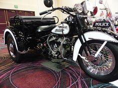 OldMotoDude: 1953 Harley-Davidson Model GA Servi-Car Police Trike sold for $21,850 at the 2016 Bonhams Las Vegas Motorcycle Auction