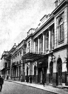 """En el 52 el Presidente Laureano Gómez ordenó la demolición del Teatro Municipal,(calle 8 con 8)símbolo de los """"gaitanistas"""""""