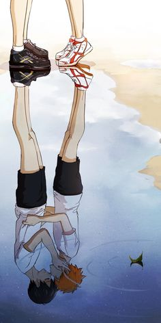 Uploaded by Neko Sempai. Find images and videos about anime, kiss and haikyuu on. - Uploaded by Neko Sempai. Find images and videos about anime, kiss and haikyuu on We Heart It - the app to get lost in what you love. Haikyuu Kageyama, Haikyuu Manga, Hinata Shouyou, Haikyuu Fanart, Manga Anime, Anime Art, Manga Girl, Anime Girls, Kuroo
