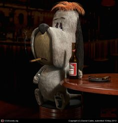 CGTalk - Droopy. Its a dogs life, Daniel Cable (3D)