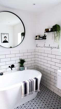 Monochrome Family Bathroom Renovation (Home Renovation Project - Katie Ellison New Bathroom Ideas, Family Bathroom, Bathroom Design Small, Bathroom Interior Design, Bathroom Inspiration, Very Small Bathroom, Bathroom Inspo, Modern Bathroom, Bathroom Renos
