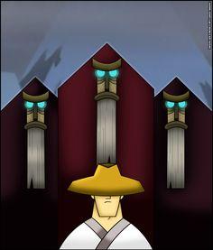 Jack and the Monks by Verona7881.deviantart.com on @DeviantArt