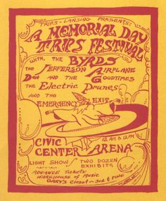 The Trips Festival Poster, 1967
