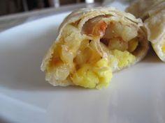 Running Upward: DIY Frozen Breakfast Burritos- Cheap, Easy, GOOD.....