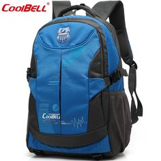 """72.00$  Watch now - http://aliqy8.worldwells.pw/go.php?t=32541969451 - """"Coolbell 14"""""""" 15"""""""" Tablet Travel Sport Backpack Shoulders Bag Laptop Notebook Within 15.6 inch For Macbook Surface Book School Bag"""""""