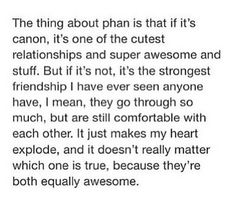 I only ship it (and believe in it) platonically, but even so it is the most amazing relationship I have ever seen.