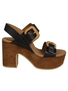 SEE BY CHLOÉ | See by Chloé See By Chloe Buckle Wedge Sandals #Shoes #Sandals #SEE BY CHLOÉ