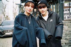 ☆Tomorrow X Together☆ Kai, Types Of Hair Color, Fandom Kpop, Photo Sketch, Beautiful Babies, Boy Bands, Rain Jacket, Windbreaker, Boys