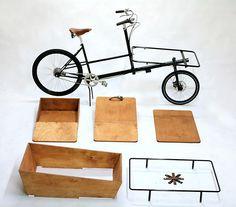 Fixed Gear Blog: Pelago Bicycles Linahammar Cargo Bike