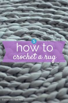 Wonderful Totally Free hand Crochet rug Strategies Learn how to easily crochet a rug by hand and without a hook. This is a fun DIY craft that will add Diy Crochet Rug, Knit Rug, Crochet Rug Patterns, Crochet Carpet, Easy Crochet, Crochet Ideas, Scarf Patterns, Knit Cowl, Crochet Gifts