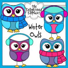 This packet includes 6 .png images of owls {including black and white images}; perfect for winter projects.  Clip art is for personal or commercial use. Link to my store is required in commercial use products. No additional license required.   Personal Use These graphics may be used for personal use in documents or items that you create. The documents may be printed and copied for classroom use, but any redistribution of the graphics alone is not permitted.
