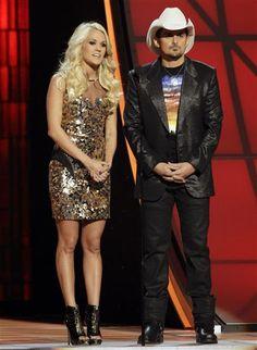 Brad Paisley/Carrie Underwood~ 2012 CMA Awards