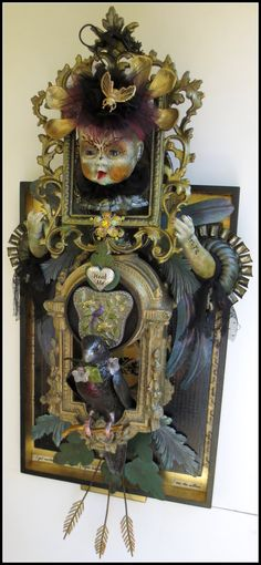 HEAL ME wall assemblage by laurettacreations on Etsy