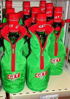 Promotional Packaging – Bottle Coats by Get 27