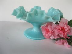 Fenton Comport Turquoise by TheSnapDragonsLair on Etsy, $24.95 #vogueteam #rtoe1 #boebot2