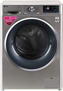 LG 9 kg Inverter Wi-Fi Fully-Automatic Front Loading Washing Machine price in india STS-VCM, Inbuilt Heater) - India Smart Price Washing Machine Price, Wi Fi, India, Goa India
