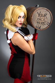 This wonderful Harley Quinn cosplayer goes by the name The Artful Dodger, and the photography was done by Blake Robertson. I love the playfulness portrayed in the photos. This is one of my favorite Batman villains, and it's always nice to come across really cool art and cosplay like this. Hope you like it!