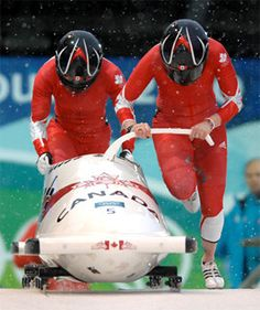 Bobsleigh - Vancouver 2010 Olympics Helen Upperton & Shelly-Ann Brown Shelly Ann, Youth Olympic Games, Bobsleigh, Canada, Winter Olympics, Vancouver, Athlete, Automobile, Sport