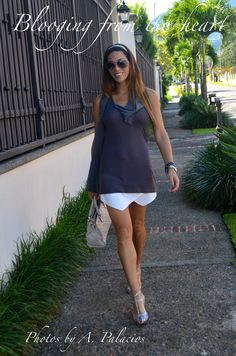 Mini Skort and Grey