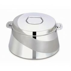 Maxima Pyramid Plain Hot Pot Litre: It is perfect for keeping hot items like steam rice, biriyanies, vegetable curries, naan and roties. Dining Products, Vegetable Curry, Hot Pot, Stainless Steel Kitchen, Dinnerware Sets, The Help, Casserole, Kitchen Appliances, India