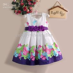 Girl Flower Party Dress Brand Elegant Dresses Girls Printed For New Year Unique Parties Kids Clothes