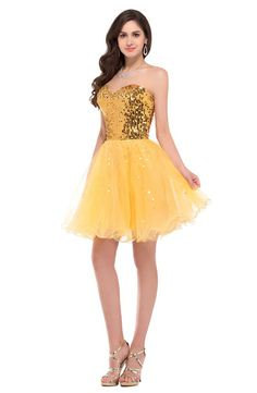 Cheap cocktail dresses Buy Quality coctail dress directly from China cocktail dresses Suppliers: Grace Karin Gold Black Sequins robe de Cocktail Dresses 2017 Short Gown Homecoming Party Dresses Mini Prom Coctail Dress 2513 Prom Dresses 2017, Prom Party Dresses, Party Gowns, Strapless Dress Formal, Evening Dresses, Cocktail Dress 2017, Cheap Cocktail Dresses, Evening Cocktail