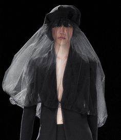 Yohji Yamamoto Paris Spring 2013