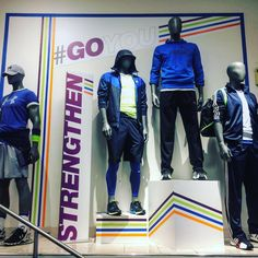 """MACY'S, Bellevue Square, WA, """"Live that healthy and active lifestyle - Men's Active"""", pinned by Ton van der Veer"""