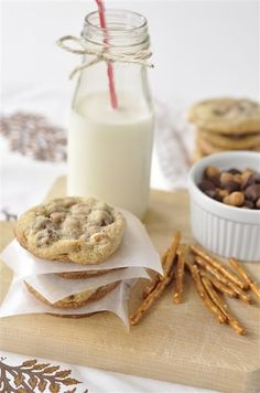 Caramel, Pretzel, Chocolate Chip Cookies - your homebased mom