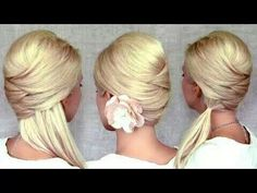 Very easy hair style and super cute