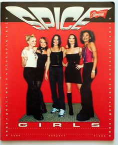Who didn't have a Spice Girls Notebook?! $3 | 23 Girly School Supplies From Your Childhood You Maybe Still Want