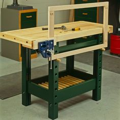 woodworking - Wood Magazine Woodworking Project Paper Plan to Build Workhorse Workbench Woodworking Bench Plans, Woodworking Hand Tools, Wood Tools, Wood Plans, Popular Woodworking, Woodworking Magazine, Woodworking Apron, Woodworking Basics, Cool Woodworking Projects
