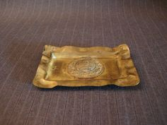 WWI Gun Metal Ashtray, German [Vintage] by MaGriffeBoutique on Etsy