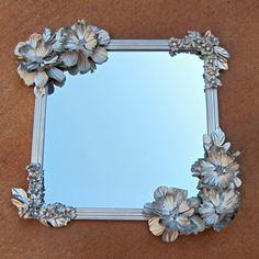 Anthropologie Dollar-Store Mirror DIY