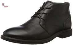 Ecco Knoxville, Derby Homme, Noir (Black), 42 EU - Chaussures ecco (*Partner-Link)