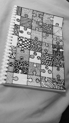 Easy Doodle Art, Doodle Art Designs, Doodle Art Drawing, Mandala Drawing, Black Pen Drawing, Easy Canvas Art, Small Canvas Art, Art Drawings Sketches Simple, Pencil Art Drawings