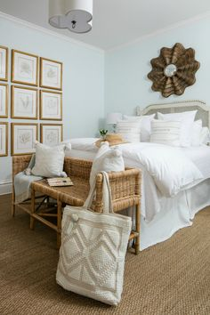Serena and Lily 's off friends and family sale is the perfect time to add a little bit of coastal flair to your home--no matter how far you are from the shore. Check out this coastal chic makeover from our Beaufort house! Decor, Home Decor Styles, Home Decor Inspiration, Room, Coastal Decor, Beach House Decor, Home Decor, Coastal Bedrooms, Beach Cottage Decor