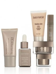 Laura Mercier's step-by-step Flawless Face technique is a warm weather beauty must. (212 872 2780)