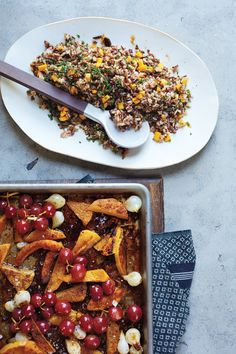 Butternut Squash and Wild Rice Salad | Vegetarian Times
