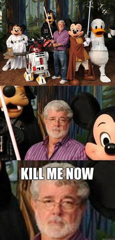 Depressed George Lucas
