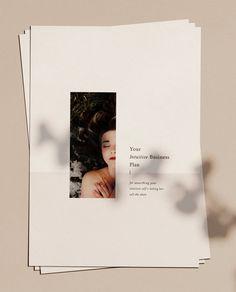 Intuitive Business Plan A Workbook for Manifesting the Business and Life You've Been Dreaming Of Web Design, Layout Design, Print Design, Design Trends, Design Ideas, Design Tutorials, Creative Design, Design Projects, Design Art