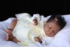 REBORN BABY GIRL~ETHNIC AA BIRACIAL~NOAH SCULPT BY REVA SCHICK~
