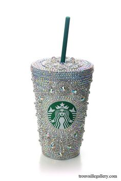 Swarovski Starbucks Cup.  Great to go with CharmNstylus   CharmNstylus.com