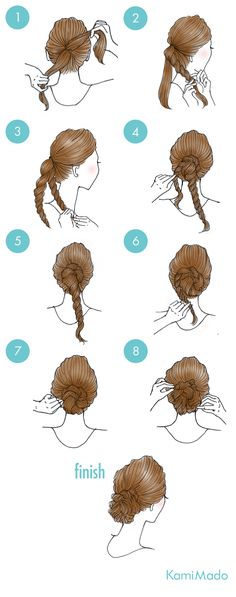 Long loose twists to a bun in the neck cool hairbun cool hair long loose neck twists 22 herausragendsten geflochtenen hochzeitsfrisuren post_tags Cute Simple Hairstyles, Casual Hairstyles, Fancy Hairstyles, Wedding Hairstyles, Medium Hair Styles, Curly Hair Styles, Long Braids, Twist Braids, Hair Designs